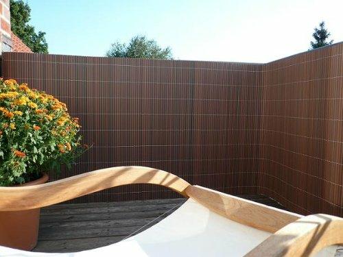 Balkon Sichtschutz Aus Bambus Praktische Und Originelle Idee