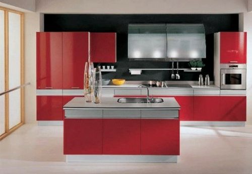 Red and black kitchen decor ideas. red and and red kitchen decor ...