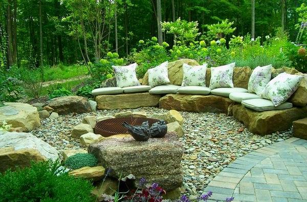 Large Rocks Garden Landscaping