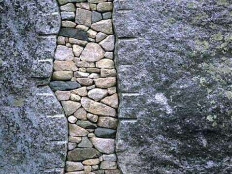 steinmauern im garten steinmauer im garten gestalten - kreative außenarchitektur