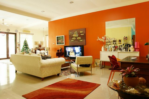 Earth Tone Living Rooms