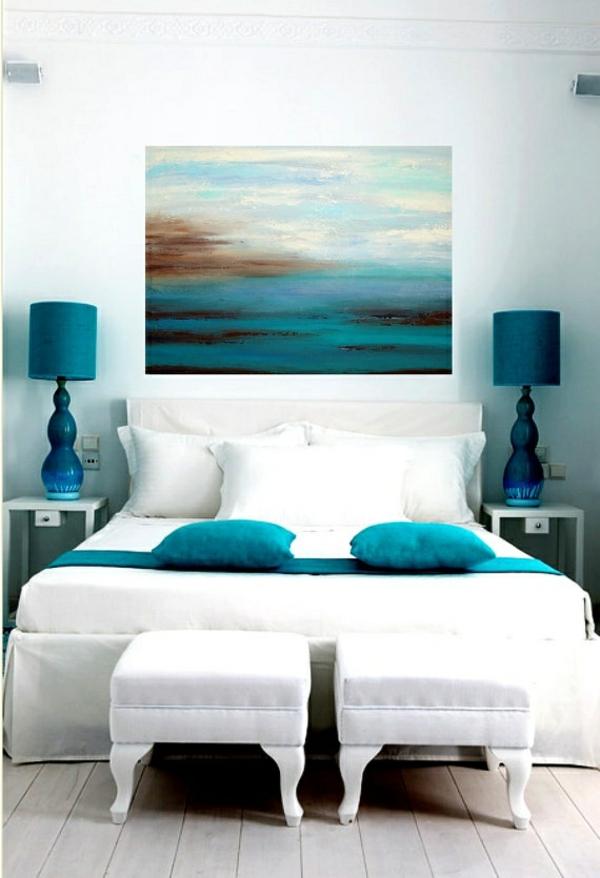 Farbideen Schlafzimmer Einflureiche Farben Und Dekoration
