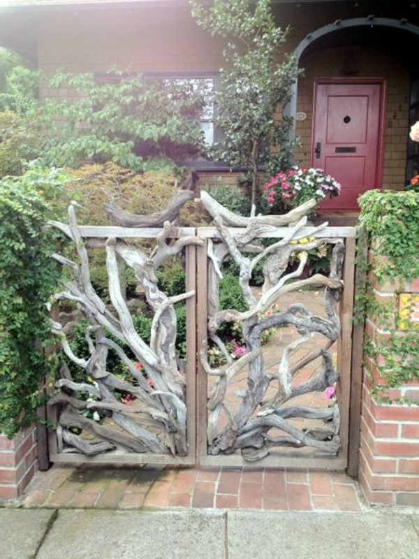Gartentren Designs Fr Eine Zauberhafte Gartengestaltung