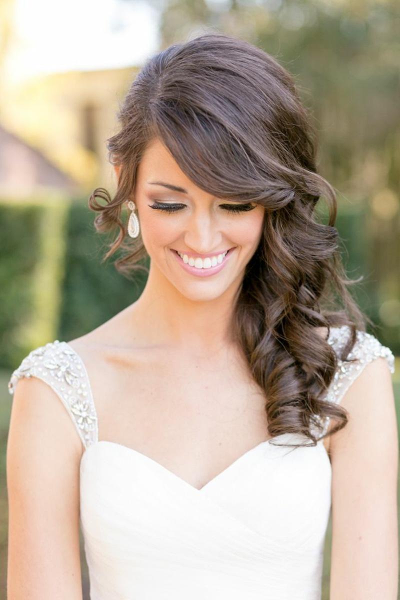 30 Bezaubernde Hochzeitsfrisuren Fur Mittellanges Haar Follow Of