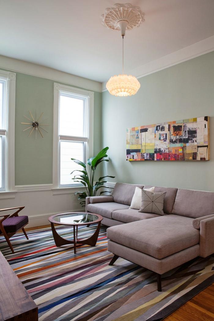 Wohnzimmerteppich 65 Beispiele Wie Sie Den