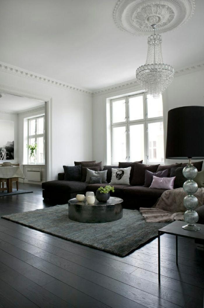 wohnzimmer modern einrichten html wohnzimmer ideen wandgestaltung grau