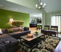 50 Farbige Wände, welche der zeitgenössischen Wohnung ...