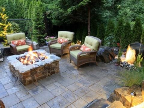 sitzecke garten ideen garten sitzecke -  ideen, wie sie ein outdoor wohnzimmer