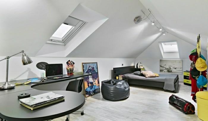 Jugendzimmer Mit Dachschrage Einrichten Upgrader Top