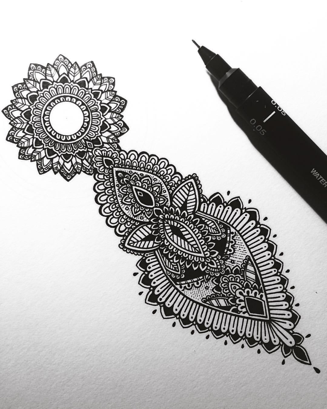Tatouage Mandala Signification Et Modles Pour Vous Inspirer