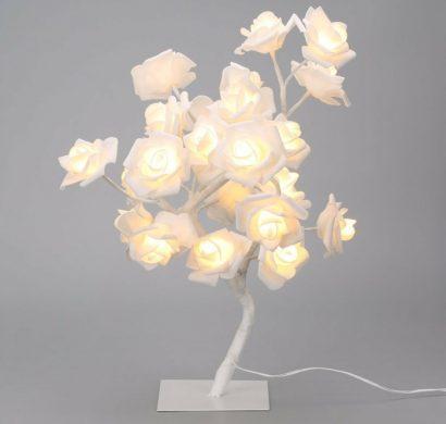 Lampe En Papier Fleur Faire Soi Mme Instructions Et