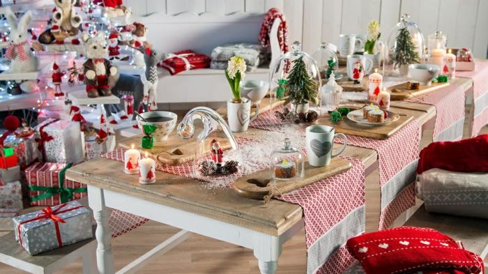 amazing dcoration de table de nol table couleurs nol with decor de table noel