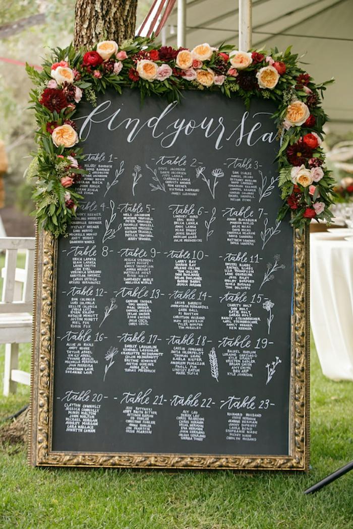 Plan De Table Mariage Ides Pour Le Grand Jour