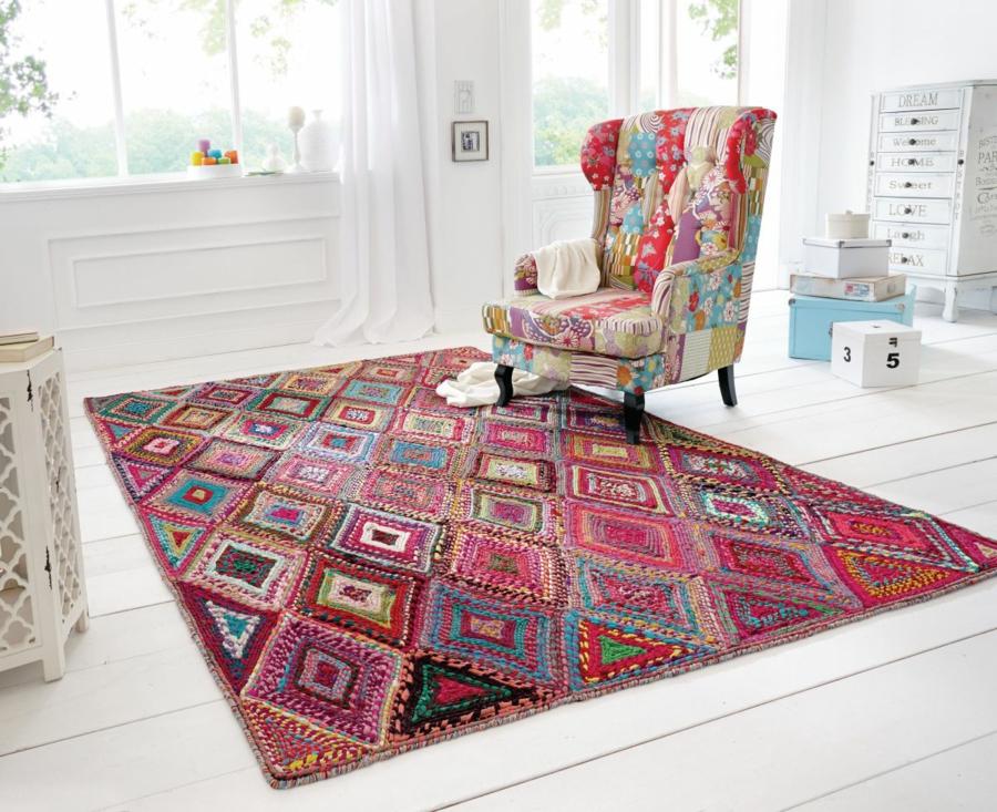 la tendance du tapis berbere en