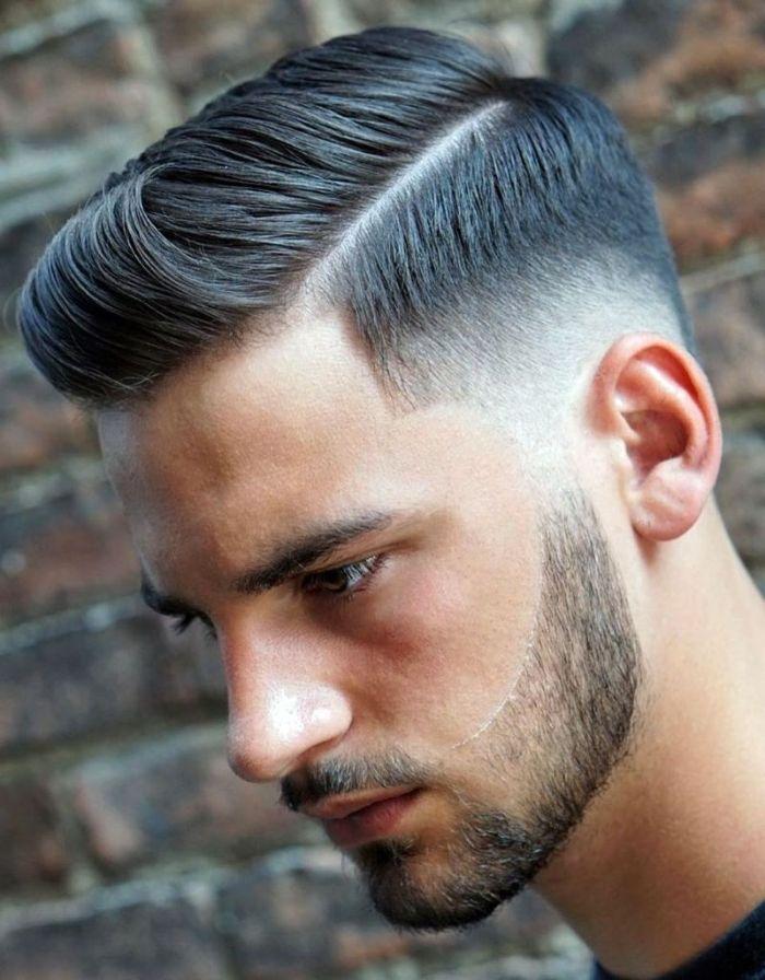 coupe homme degrade la coiffure