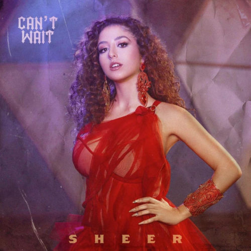 Sheer Can't Wait Debut Single Cover