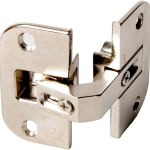 Pie-Cut Corner Hinge Pair of Hinges