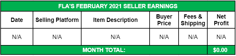 February 2021 Side Income Seller Earnings