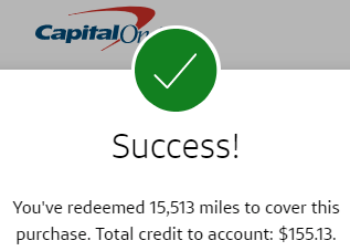 August Side Income 2021 Capital One Credit Card Purchase Cover