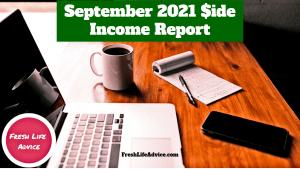 September Side Income 2021
