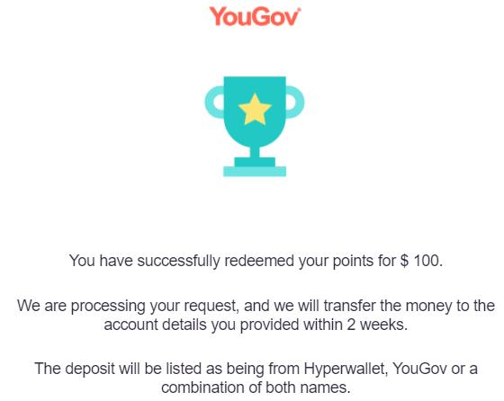 September Side Income 2021 YouGov Cash Reward