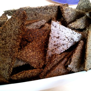 Gluten-Free Flax Crackers