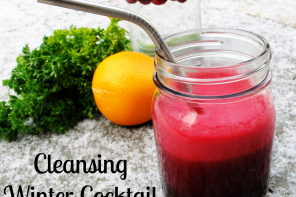 Cleansing Winter Cocktail