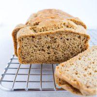 Easy & Delicious Paleo Bread (dairy free, sugar free)