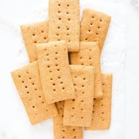 Homemade Graham Crackers (gluten free, nut free)