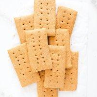 Homemade Graham Crackers (gluten free, nut free)