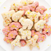Healthy Homemade Circus Animal Cookies (paleo, nut free)