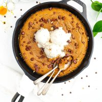 Sweet Potato Cookie Skillet (paleo & nut free)