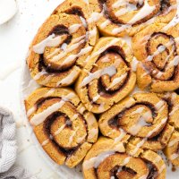 Perfect Fluffy Cinnamon Rolls (paleo & nut free)