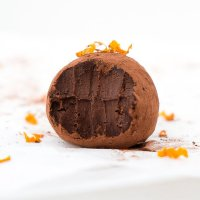 Orange and Chocolate Truffles (vegan & paleo)