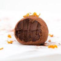 Orange and Chocolate Truffles (vegan & paleo)