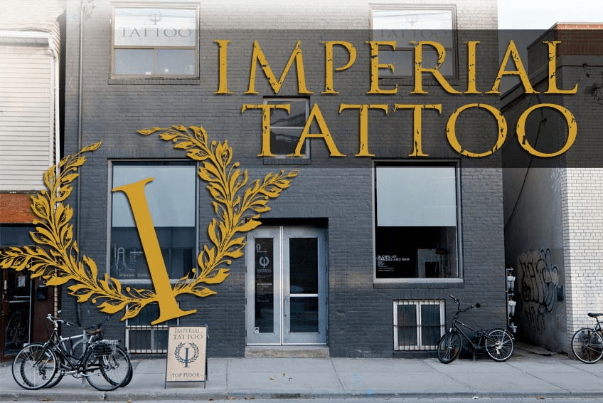 Imperial Tattoo // freshlyhatched.ca