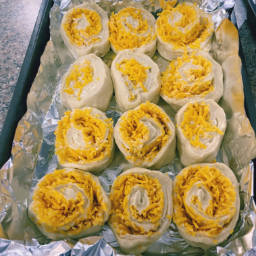 Cheddar Cheese Scrolls