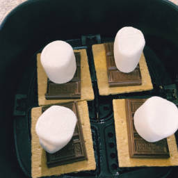 Air-Fryer S'mores