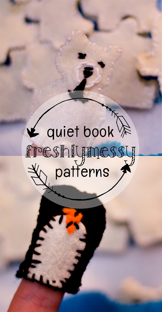 i is for igloo quiet book