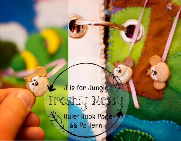 j is for jungle quiet book 7