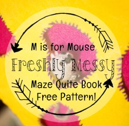 m is for maze quiet book 5