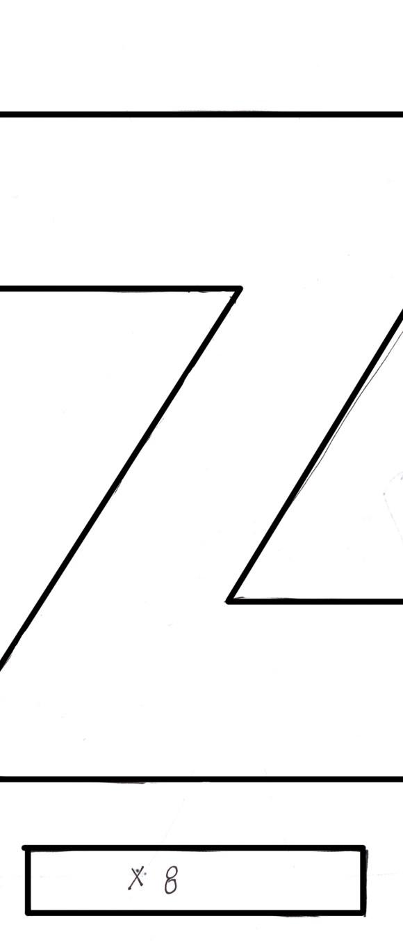 z is for zebra quiet book pattern