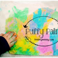 How To Make Perfect Puffy Paint (with Supplies You Already Have)
