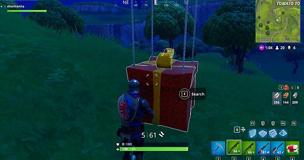 Fortnite's April Fool's Prank