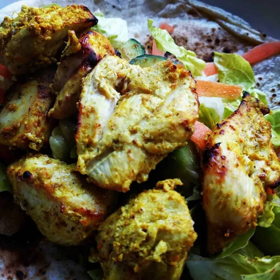 Check out of spice infused chicken blend and create easy dishes like our chicken kebabs. Recipe cards sent with all blends!
