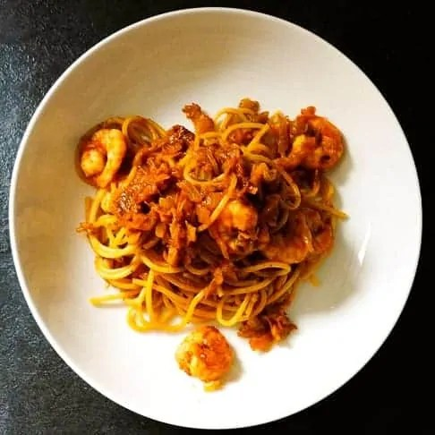 Prawn Spaghetti Recipe