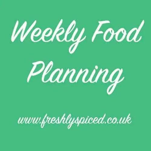 Weekly Food Planning
