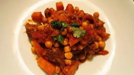 Leftover Turkey Stew (using Garam masala or spicy egg blend)