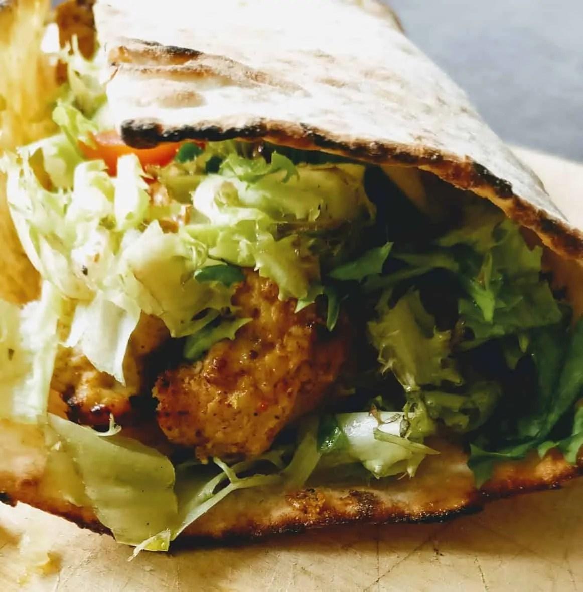 Healthy Chicken Kebab Recipe (Ras El Hanout Blend)