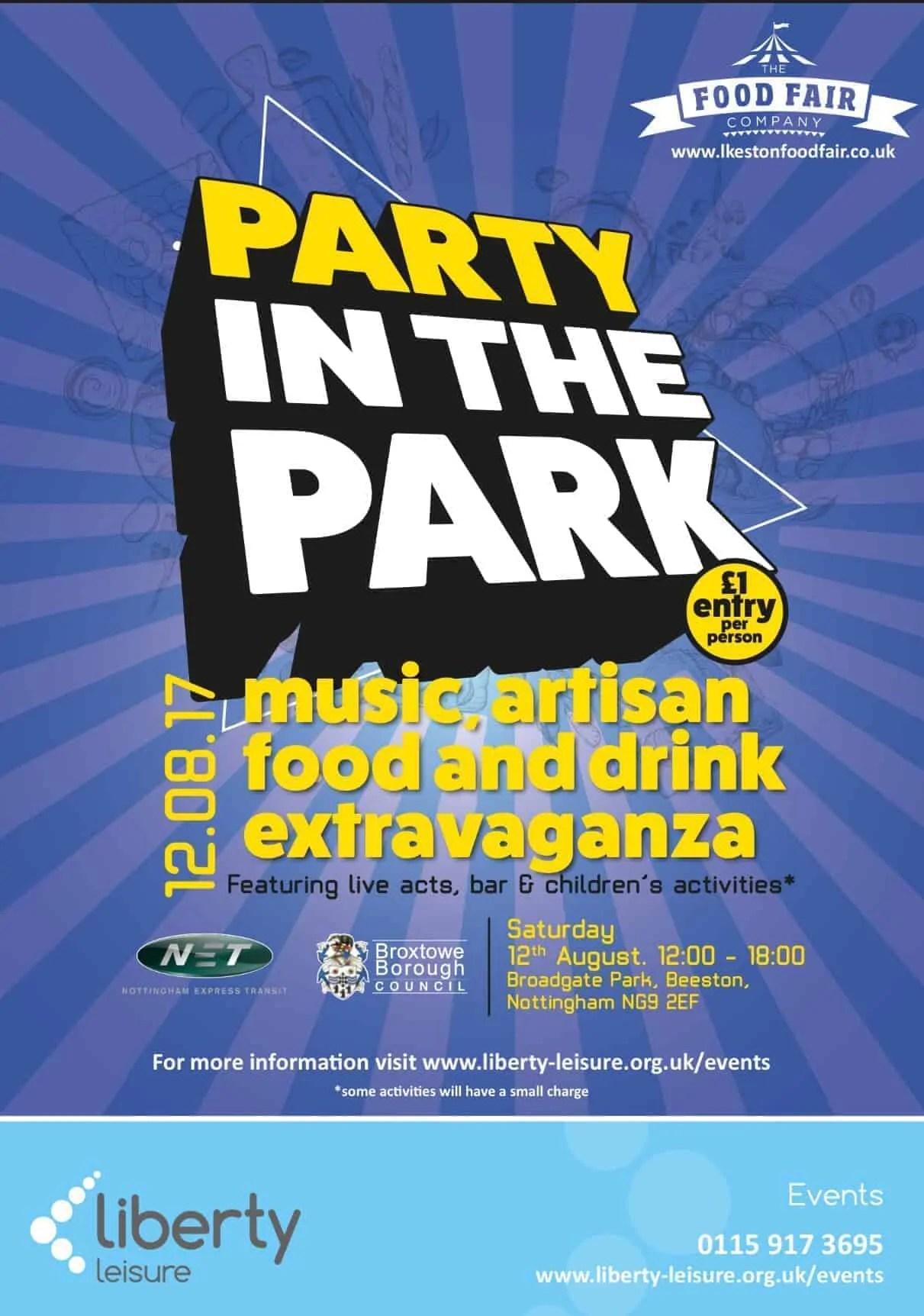 Beeston Party in the Park